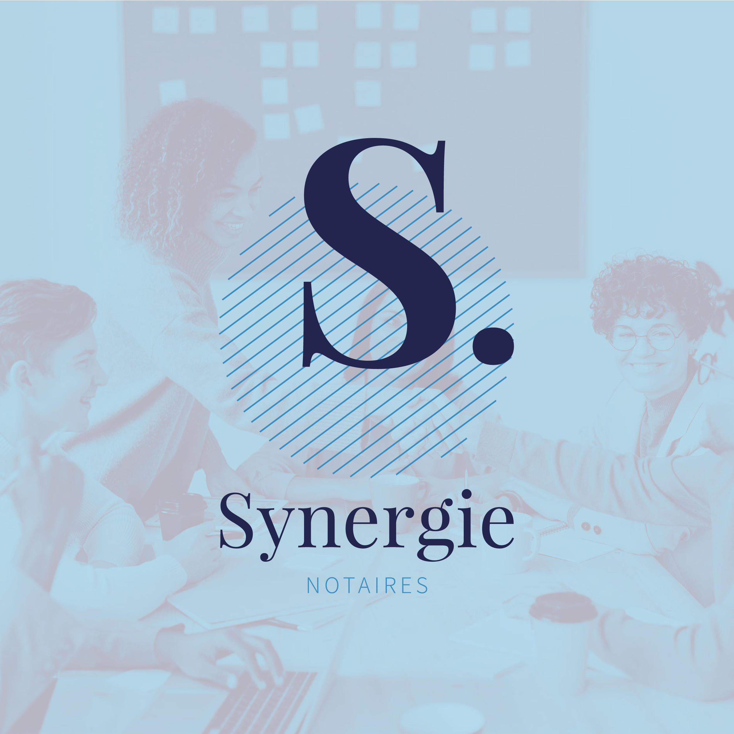 Synergie Notaire - Création de logo