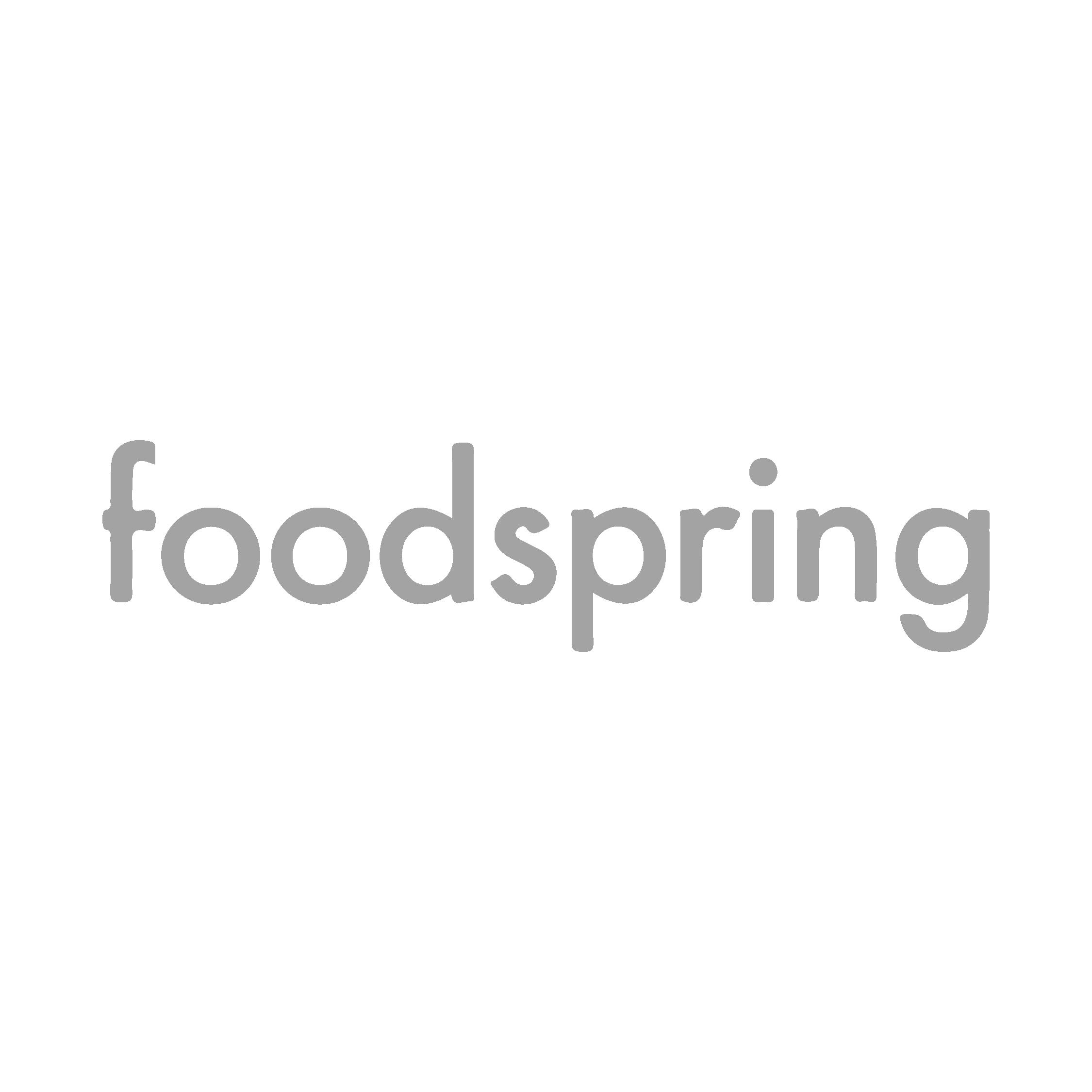 Logo Foodspring - Agence de communication Break-Out Company