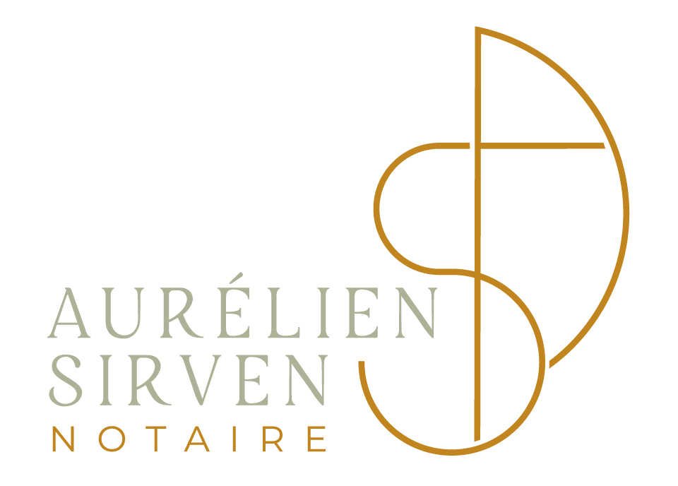 Création logo Notaire - Maître Sirven