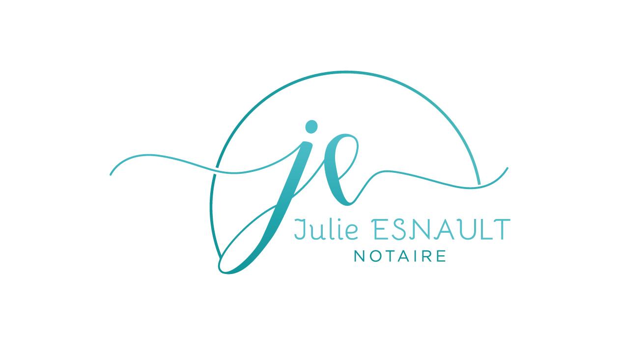 Création logo Notaire - Maître Esnault