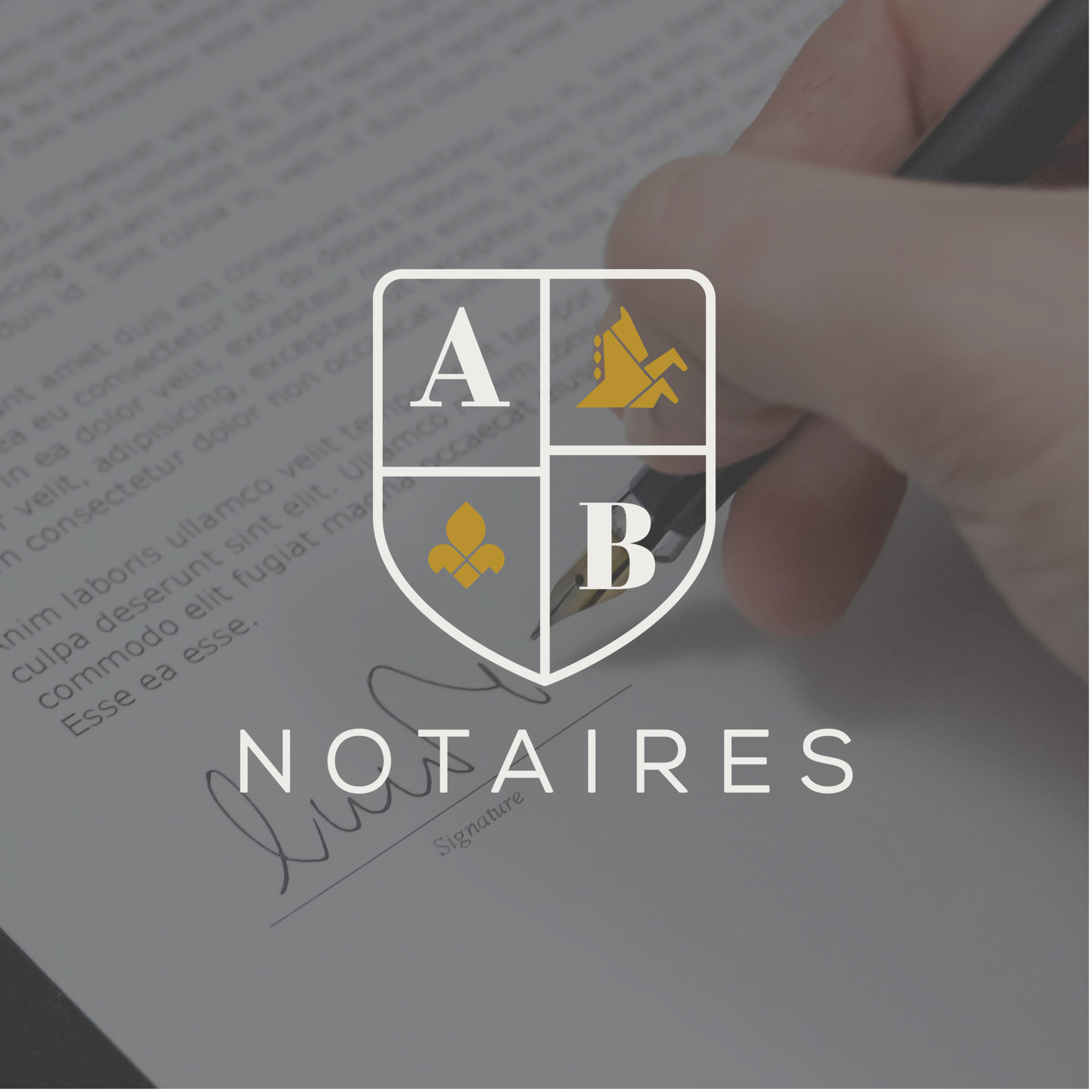 Agence de communication notaire France