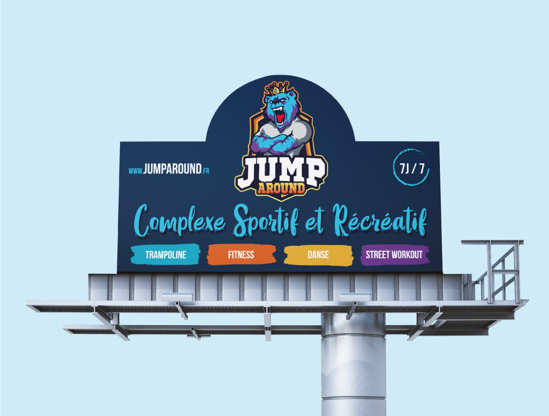 Signalétique de Jump Around