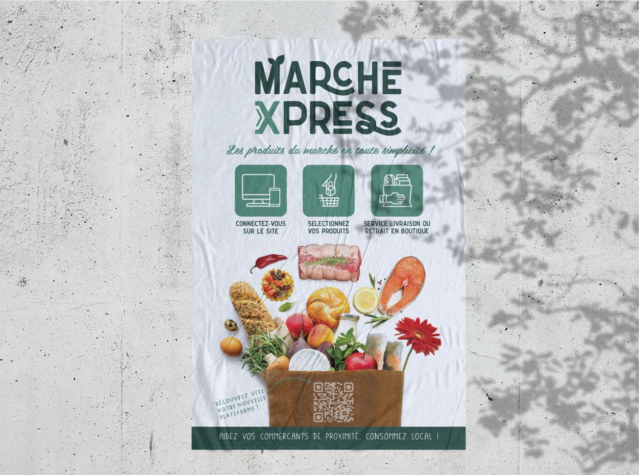 Affiche du Marché Xpress à Tarbes
