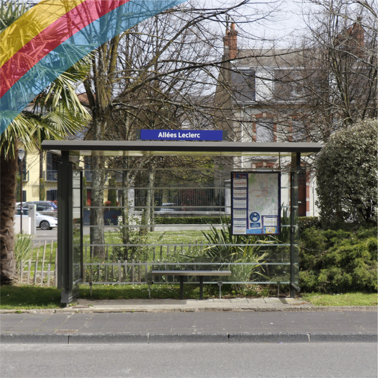 Arret de bus KEOLIS Tarbes