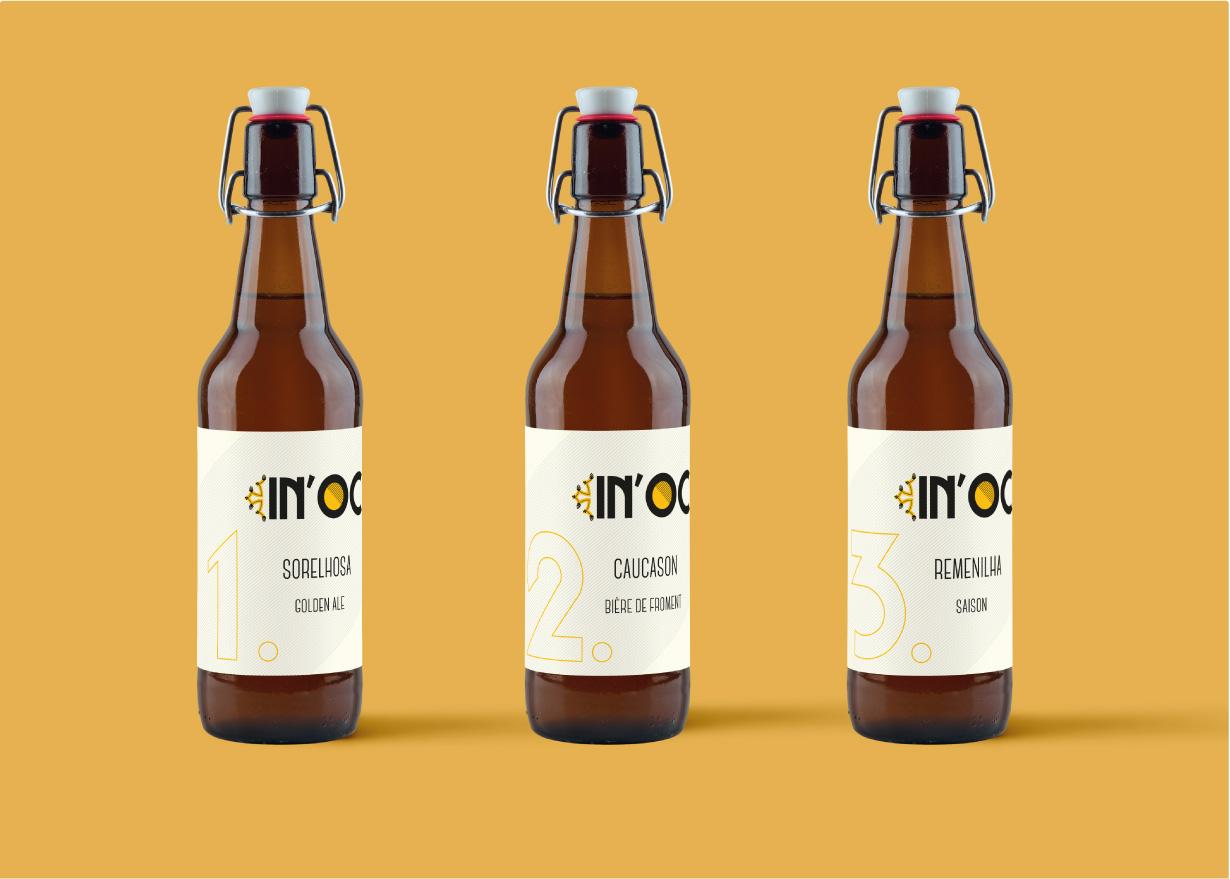 Création étiquette bière In'noc 2