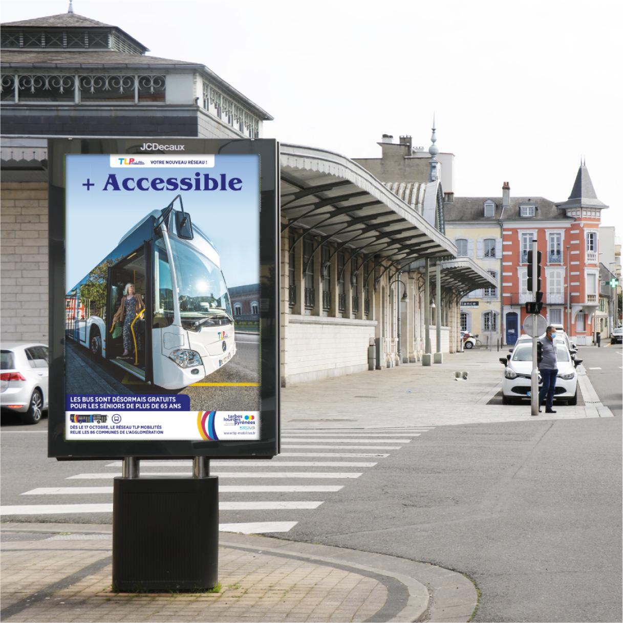 Affiche publicitaire KEOLIS