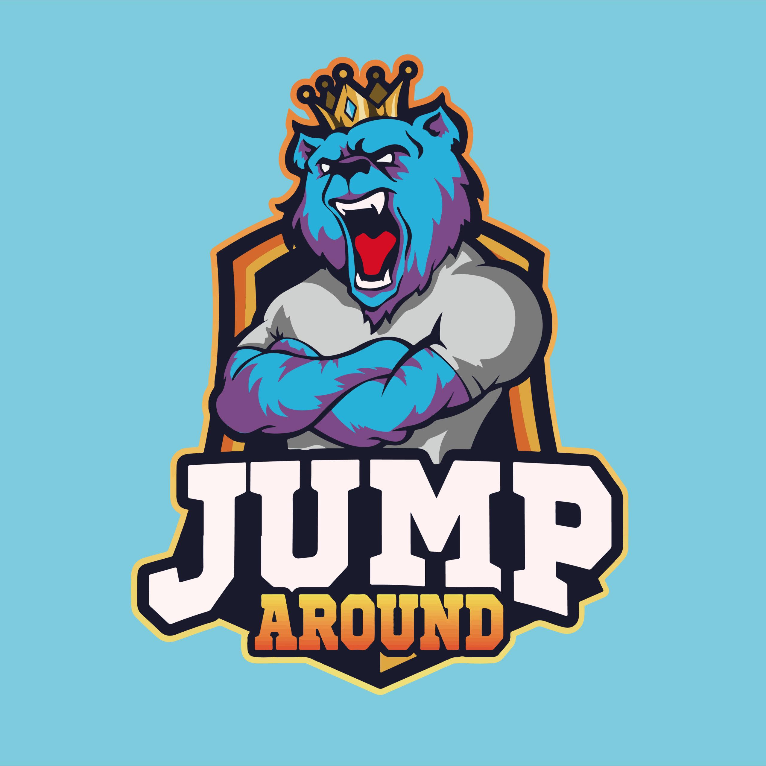 Réalisation de l'identité visuelle de Jump Around