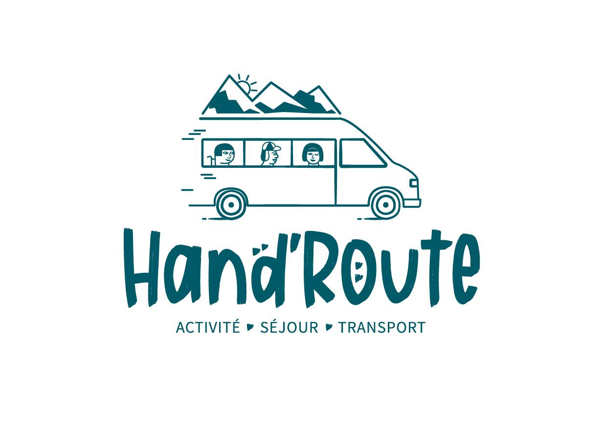 Création logo de Hand'Route